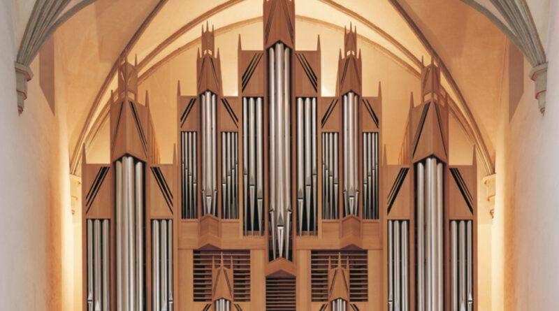 Die Orgel der St. Martin-Kirche