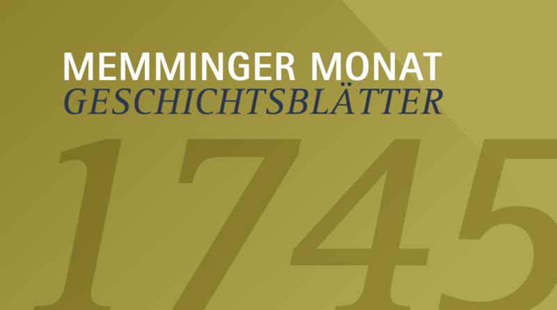 übrig Memminger Geschichtsblätter