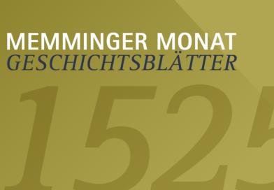 Memminger Geschichtsblätter – 1525
