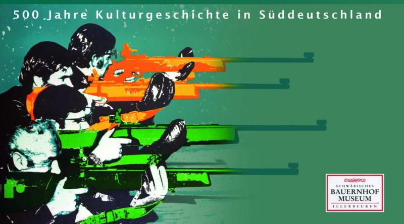Ausschnitt aus dem Titelbild mit Illustration mehrerer Schützen