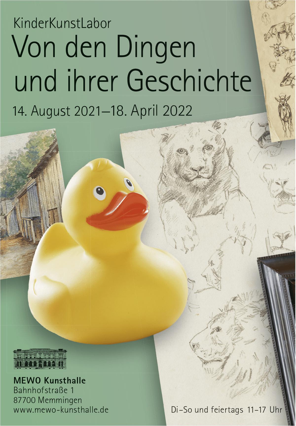 Anzeige für das KinderKunstLabor der MEWO-Kunsthalle